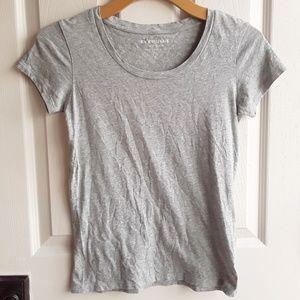 Everlane Grey prima cotton tee XS